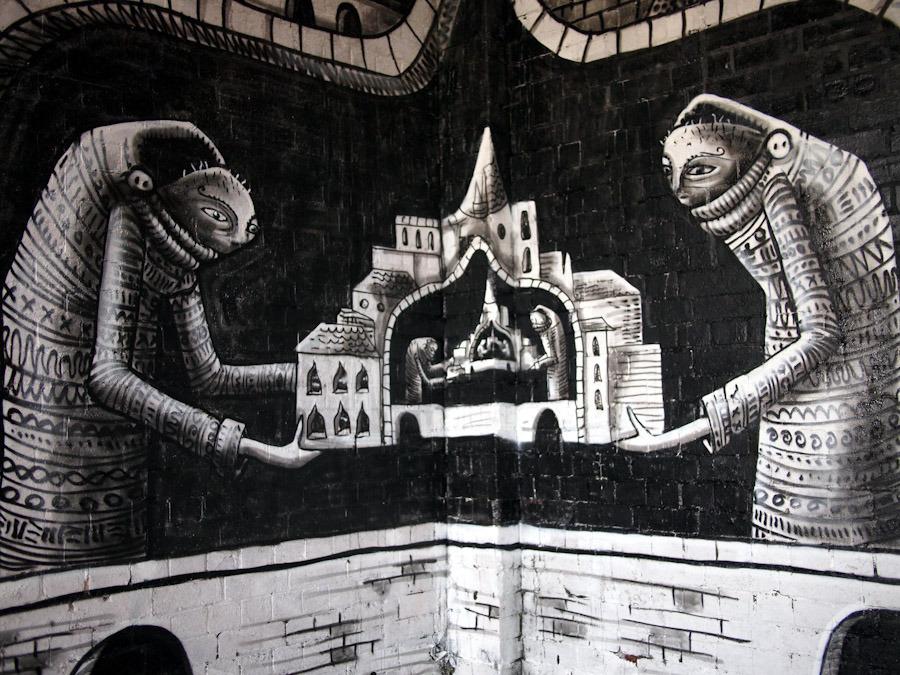 Phlegm Sheffield Unurth Street Art